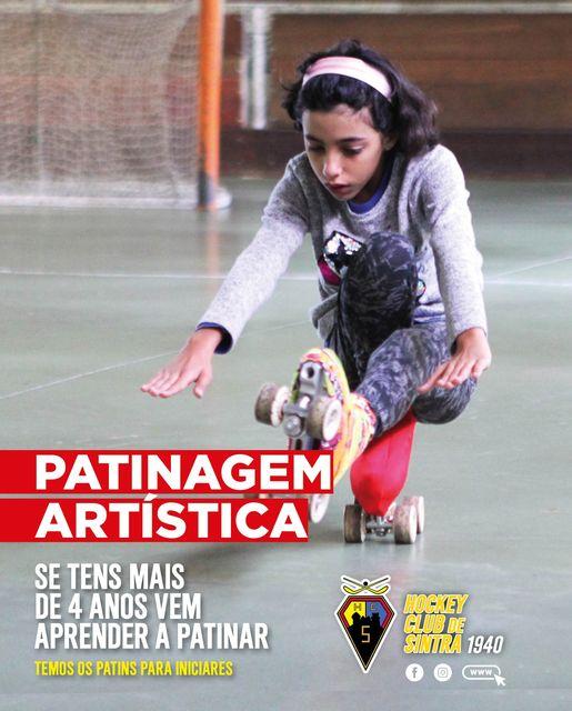 Patinagem Artística - Hokey Club de Sintra