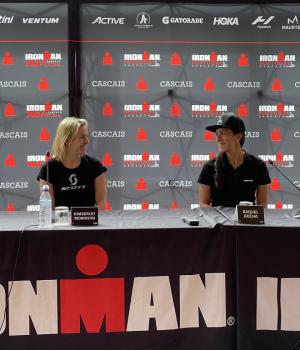 Kimberley Morrison e Raquel Rocha - Ironman Portugal Cascais 2021